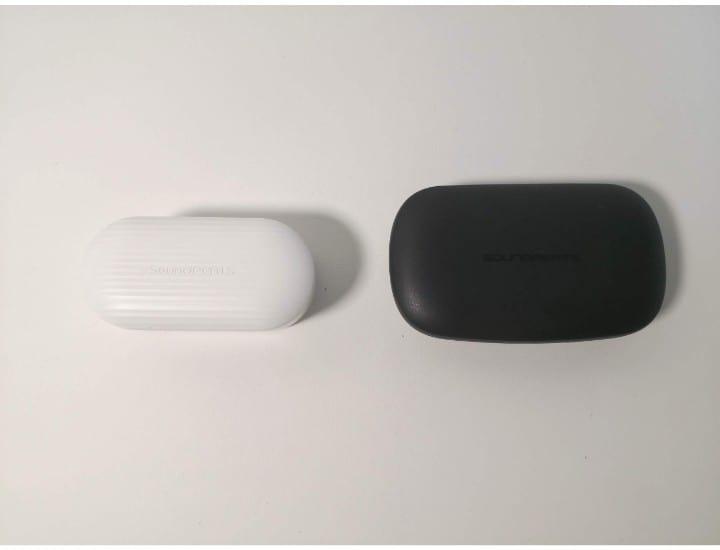 Soundpeats TRUEBUDSとTRUEFREE+のケースを比較