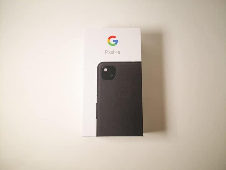 Pixel4a外箱パッケージ