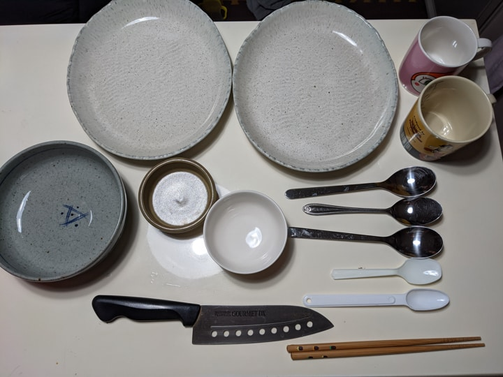 アイリスオーヤマKISHT-5000-Wできれいになった食器たち一覧