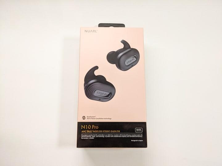NUARL N10 Pro パッケージ外観