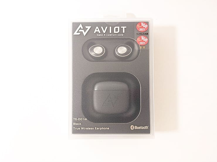 AVIOT TE-D01m外箱パッケージ外観