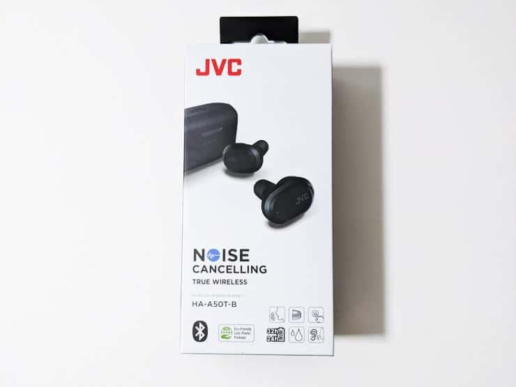 JVC HA-A50Tの外箱パッケージ