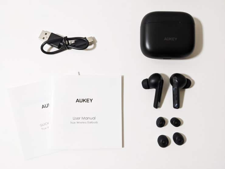 AUKEY NP-N5の付属品一覧