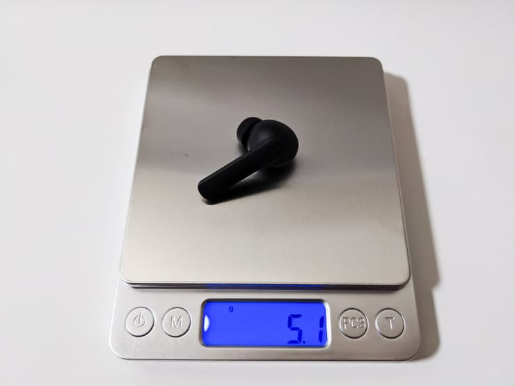 重さはたった5.1gのEP-N5