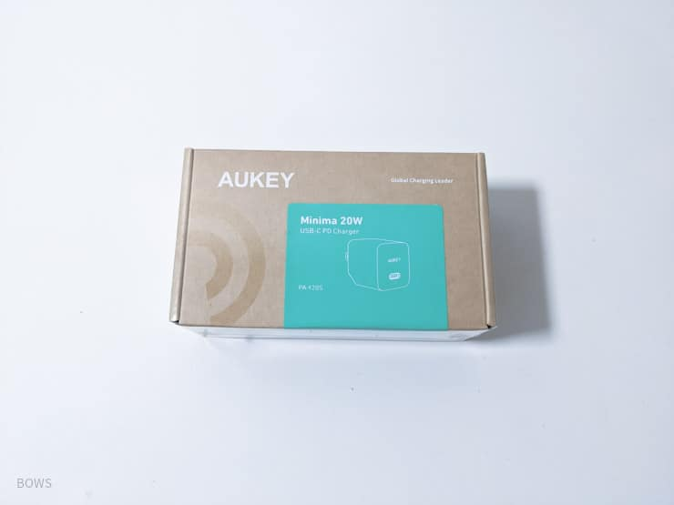 AUKEY「PA-Y20S」外箱パッケージ