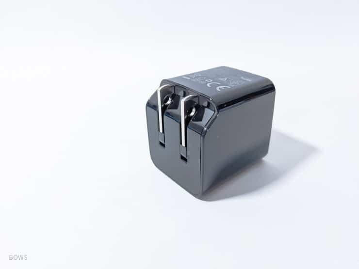 折り畳めるコンパクト充電器AUKEY「PA-Y20S」