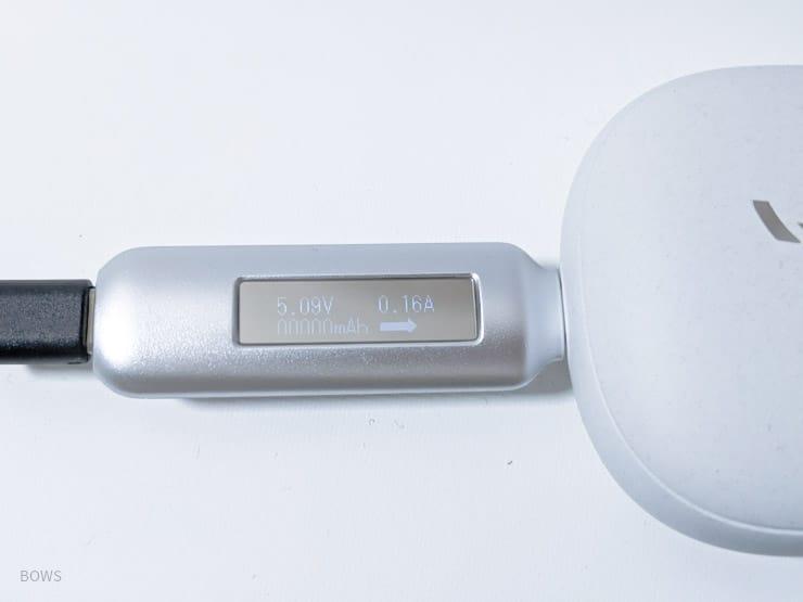 4デバイス充電時のUSB-Aの出力W数
