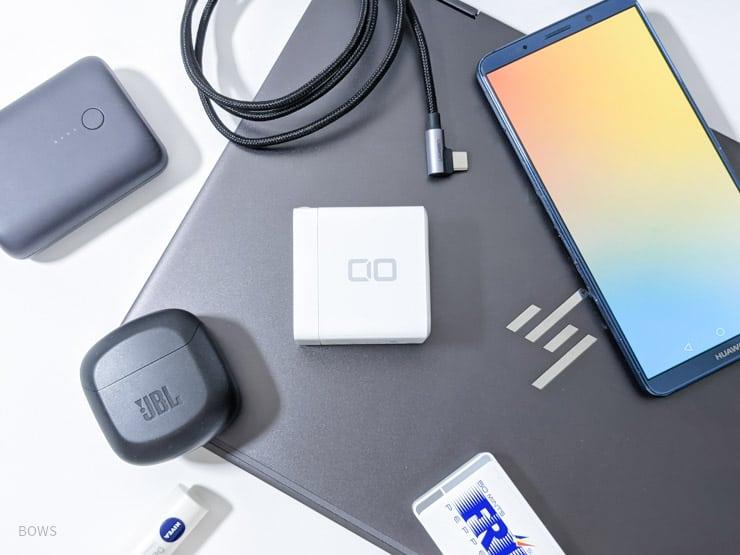 CIOのLilNob Shareをレビュー。遂に65Wの4ポート充電器が「卵サイズ」で。