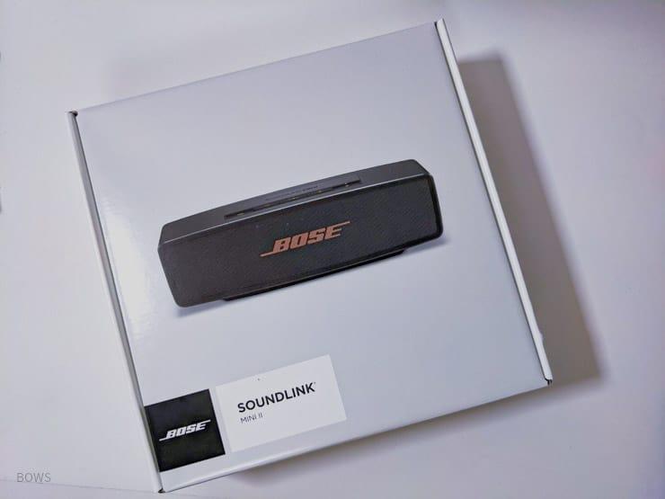 BOSE SoundLink Mini Ⅱパッケージ