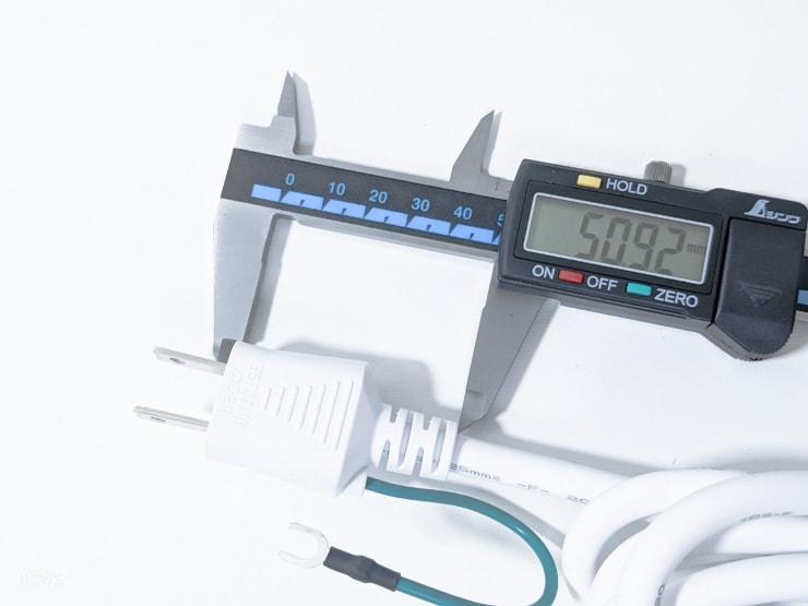 根本が5cmもあるAnker PowerPort Strip PD 3