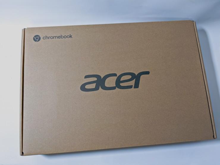 acer chromebook C871T-A38Nの外箱